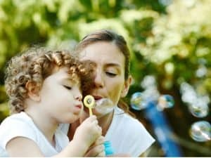 blowing bubbles secular preschool programs