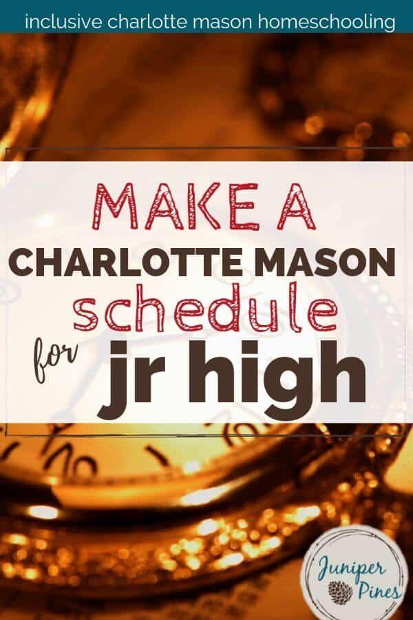 pocketwatch junior high schedule